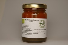 Duo rhubarbe potimarron confiture bio