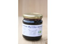 Myrtille sauvage confiture bio 200 ml